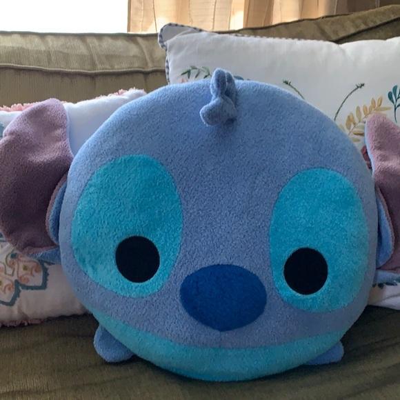 Disney Tsum Tsum Stitch face pillow